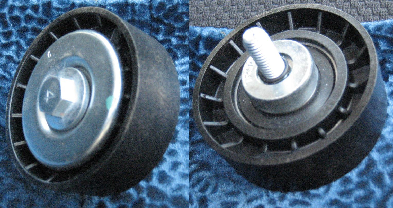 как заменит ролик двигателя фиат албеа