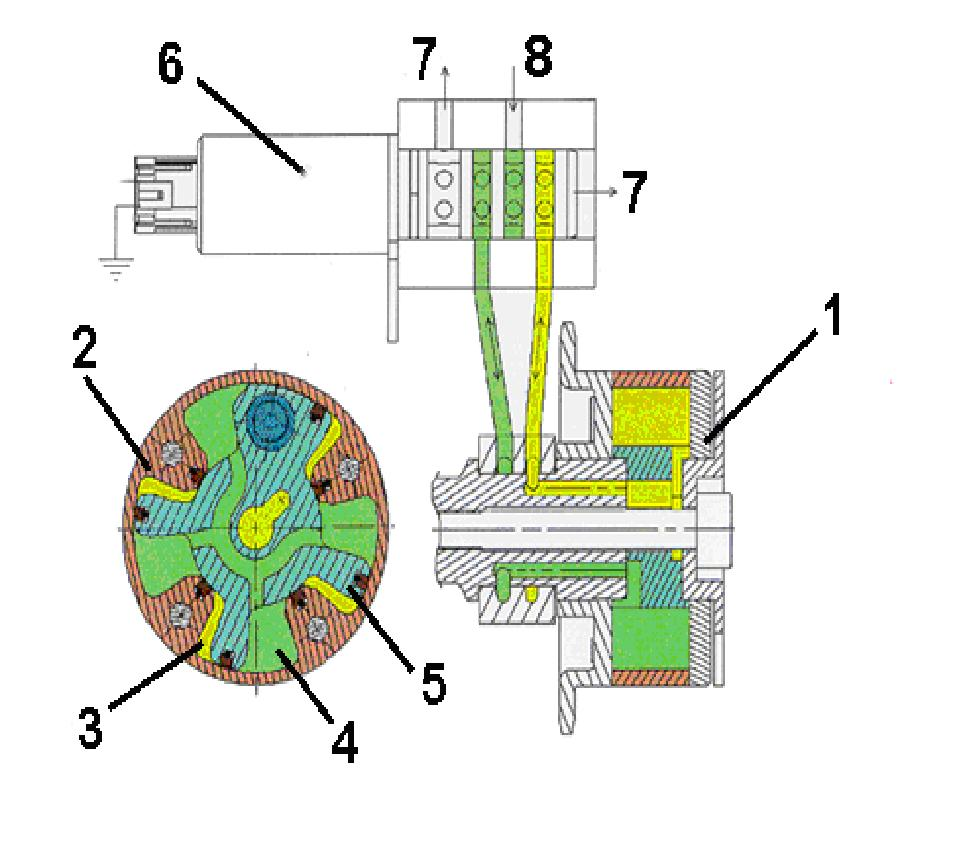 эл схема детектора поля st 110