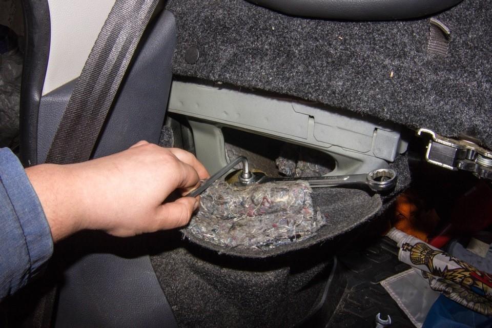 Передняя подвеска  Fiat Albea