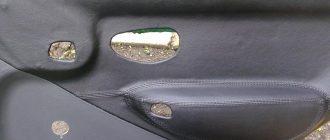 Тюнинг дверных панелей Fiat Albea