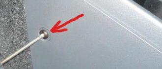 Замена ламп подсветки управления климатом Fiat Albea