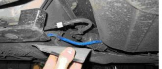 Замена топливного фильтра Fiat Albea