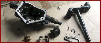 Замена сальника штока выбора передач на Fiat Albea