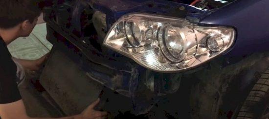 Замена шпилек выпускного коллектора Fiat Albea своими руками