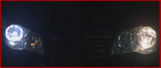 Установка светодиодов в габариты Фиат Альбеа своими руками