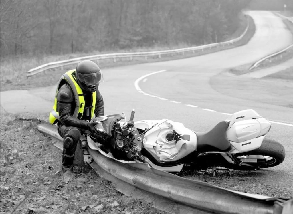 Опасные факторы для мотоциклиста