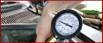 Как и чем сделать замер давления масла на Фиат Альбеа