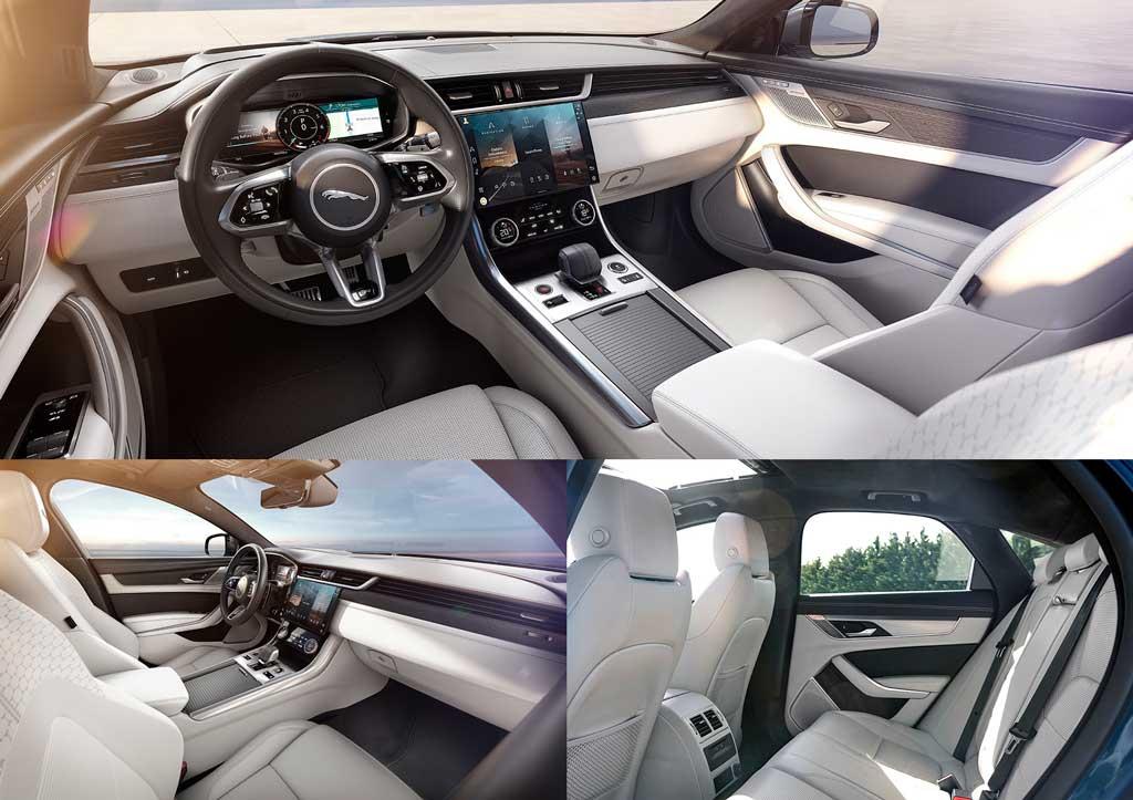 Обзор новой модели Jaguar XF 2021