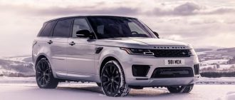 Range Rover Sport – король бездорожья
