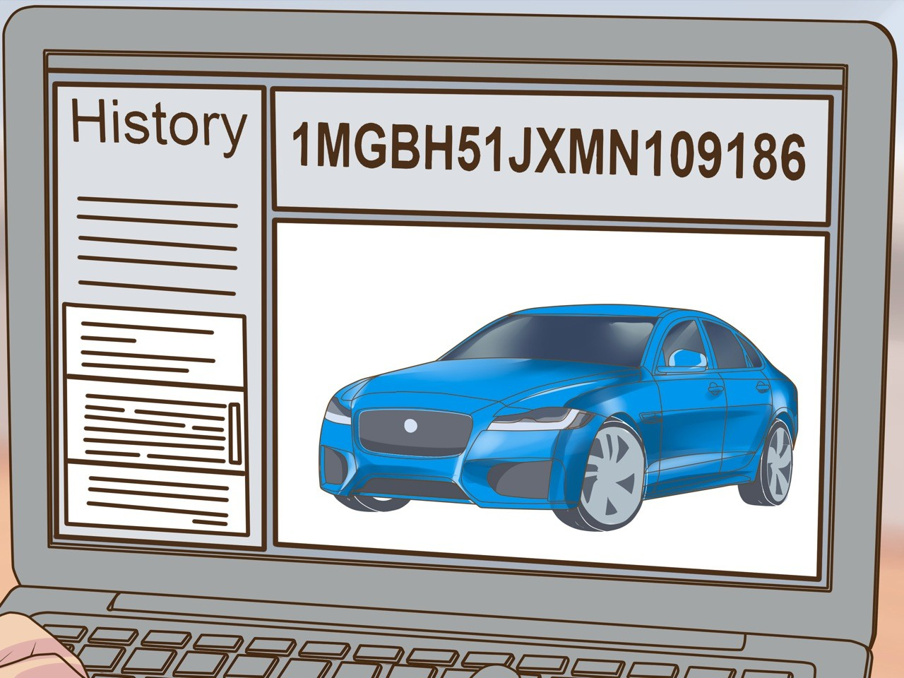 История продажи автомобиля