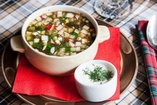 Окрошка – идеальный летний суп