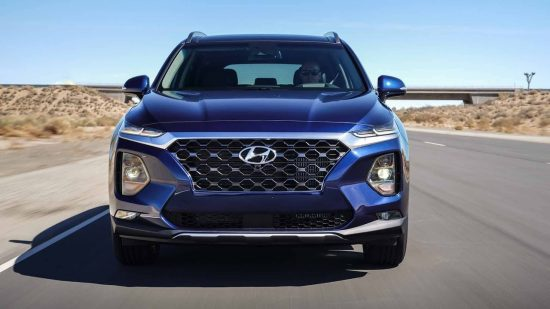 Обзор автомобиля Hyundai Santa Fe