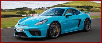 Краткий обзор Porsche 718 Cayman GT4